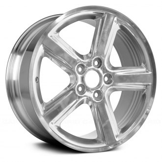 "Replace® - 18"" Remanufactured 5 Spokes Polished Factory Alloy Wheel"
