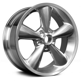 "Replace® - 18"" Replica 5 Spokes Polished Factory Alloy Wheel"