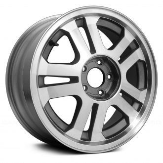 "Replace® - 17"" Replica 5 Spokes Machined with Charcoal Vents Factory Alloy Wheel"
