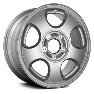 "Replace® - 17"" Remanufactured Front 5 Round Spokes Factory Alloy Wheel"