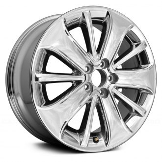 "Replace® - 19"" Remanufactured 10 Spokes Cladded Chrome Factory Alloy Wheel"
