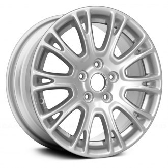"Replace® - 16"" Remanufactured 10 Y Spokes Sparkle Silver Metallic Full Face Factory Alloy Wheel"