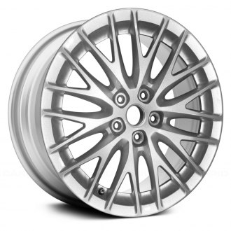 "Replace® - 17"" Remanufactured 20 Spokes Sparkle Silver Metallic Full Face Factory Alloy Wheel"