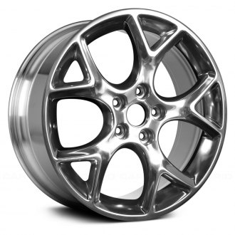 "Replace® - 17"" Remanufactured 5 Y Spokes Full Polished Factory Alloy Wheel"