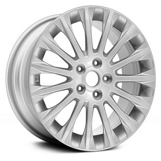"Replace® - 17"" Remanufactured 15 Spokes Sparkle Silver Metallic Full Face Factory Alloy Wheel"