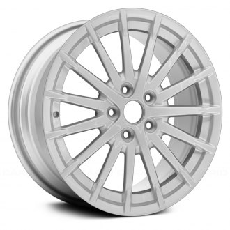 "Replace® - 17"" Remanufactured 15 Spokes All Painted Silver Factory Alloy Wheel"