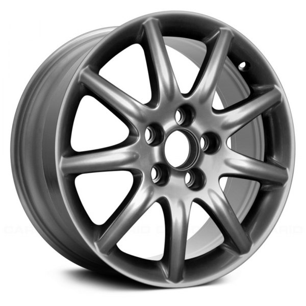 "Replace® - 17"" Remanufactured 9 Spokes Hyper Silver Factory Alloy Wheel"