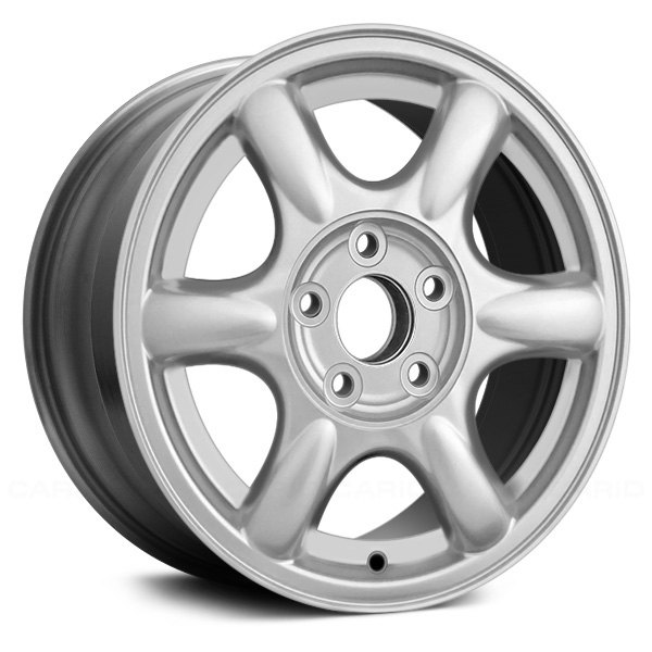 "Replace® - 16"" Remanufactured 6 Slots Chrome Factory Alloy Wheel"