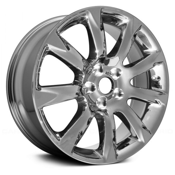 "Replace® - 19"" Remanufactured 9 Spokes Light PVD Chrome Factory Alloy Wheel"