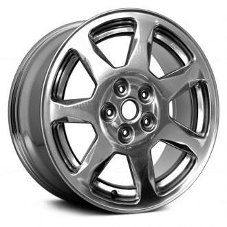 "Replace® - 17"" Remanufactured 7 Spokes Polished Factory Alloy Wheel"