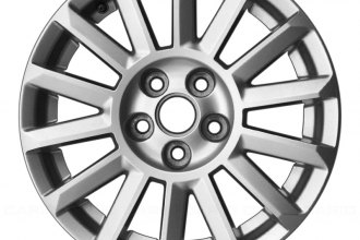 "Replace® ALY04668U20 - 17"" Remanufactured 14 Spokes Silver Factory Alloy Wheel"