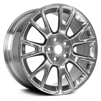 "Replace® - 19"" Remanufactured 14 Spokes Polished Factory Alloy Wheel"