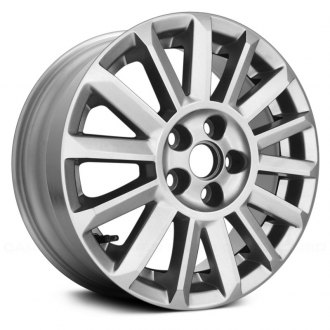"Replace® - 18"" Remanufactured 14 Spokes All Painted Silver Factory Alloy Wheel"