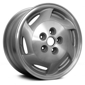 "Replace® - 16"" 6 Slots Standard Finish Factory Replica Alloy Wheel"