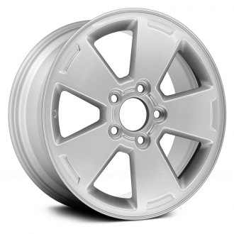 "Replace® - 16"" 5 Spokes Silver Factory Replica Alloy Wheel"