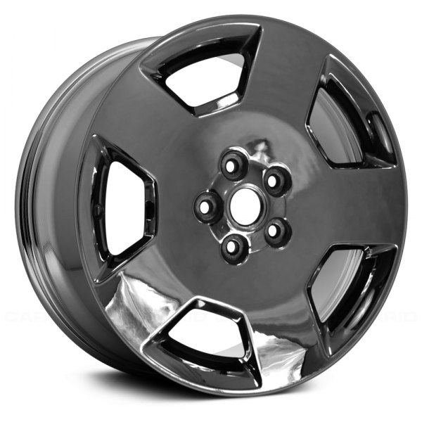 "Replace® - 18"" Remanufactured 5 Spokes Aftermarket Chrome Factory Alloy Wheel"