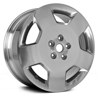 "Replace® - 18"" 5 Spokes Bright Polished Factory Replica Alloy Wheel"