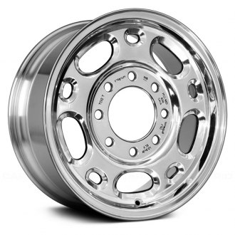 "Replace® - 16"" Remanufactured 10 Holes Bright Polished Factory Alloy Wheel"