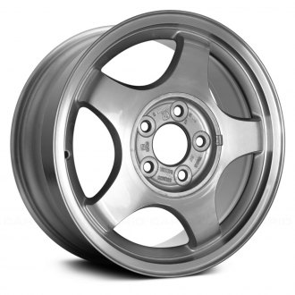 "Replace® - 16"" 5 Slots Standard Finish Factory Replica Alloy Wheel"