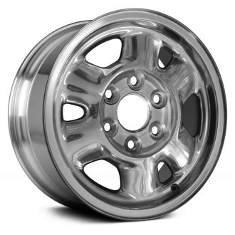 "Replace® - 16"" Remanufactured 6 Spokes Bright Polished Factory Alloy Wheel"
