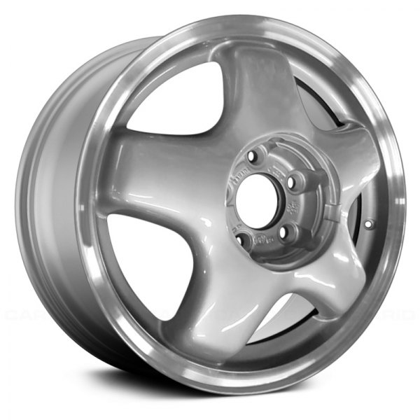 "Replace® - 16"" Remanufactured 5 Slots Argent Factory Alloy Wheel"