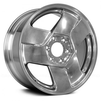 "Replace® - 17"" Remanufactured 3 Spokes Bright Polished Factory Alloy Wheel"
