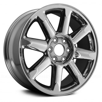 "Replace® - 20"" Replica 8 Spokes Chrome Factory Alloy Wheel"