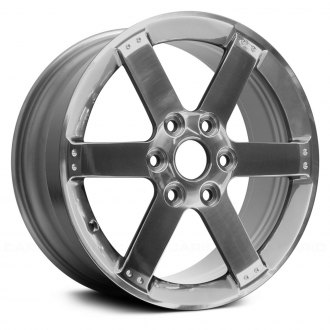 "Replace® - 17"" Remanufactured 6 Spokes Bright Polished Factory Alloy Wheel"