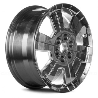 "Replace® - 18"" Remanufactured 6 Slim Grooved Spokes Bright Polished Factory Alloy Wheel"