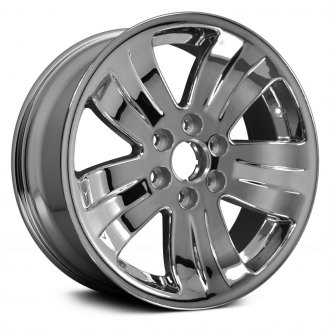 "Replace® - 20"" Remanufactured 5 Spokes with Raised Ridge Chrome Factory Alloy Wheel"