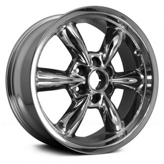"Replace® - 20"" Remanufactured 6 Rounded Spokes Chrome Factory Alloy Wheel"
