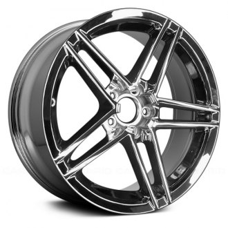 "Replace® - 18"" Remanufactured 5 Double Spokes OE Chrome Factory Alloy Wheel"