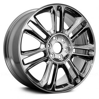 "Replace® - 22"" Remanufactured 14 Spokes OE Chrome Factory Alloy Wheel"