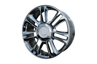 "Replace® - 22"" Remanufactured 14-Spoke Chrome Factory Alloy Wheel"