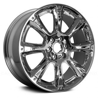 "Replace® - 22"" Remanufactured Front 8 Spokes Factory Alloy Wheel"