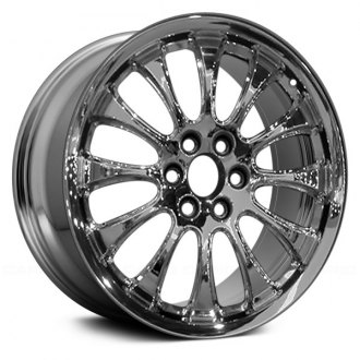 "Replace® - 22"" Remanufactured 12 Spokes Chrome Factory Alloy Wheel"