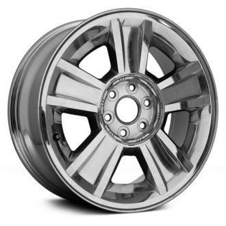 "Replace® - 20"" 5 Spokes Chrome Factory Replica Alloy Wheel"