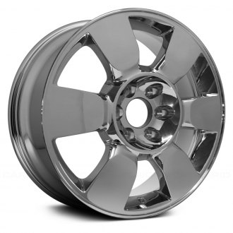 "Replace® - 20"" Replica 6 Spokes Chrome Factory Alloy Wheel"
