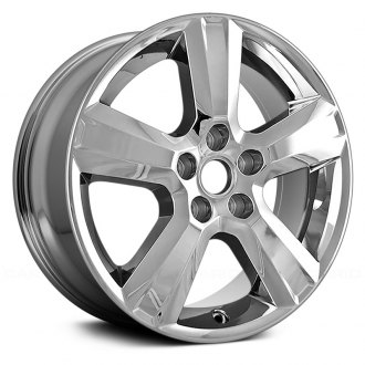 "Replace® - 17"" Replica 5 Spokes Chrome Factory Alloy Wheel"