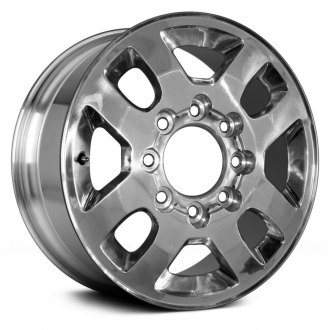 "Replace® - 18"" Remanufactured 8 Spokes Bright Polished Factory Alloy Wheel"
