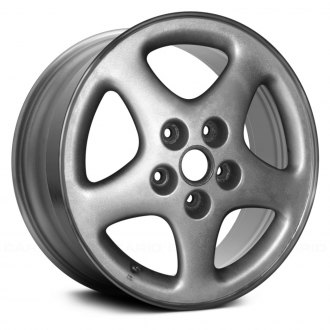 "Replace® - 16"" Remanufactured 5 Spokes Standard Finish Factory Alloy Wheel"