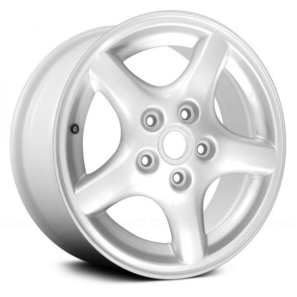 "Replace® - 16"" Remanufactured 5 Spokes White Factory Alloy Wheel"