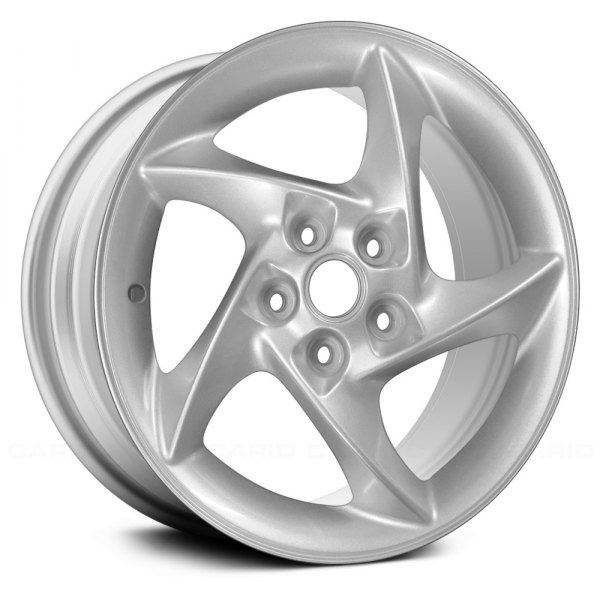 "Replace® - 17"" Remanufactured 5 Spokes Silver Factory Alloy Wheel"