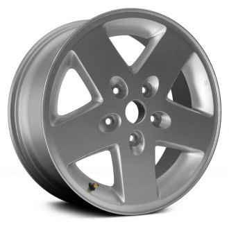 "Replace® - 17"" 5 Spokes Silver Factory Replica Alloy Wheel"