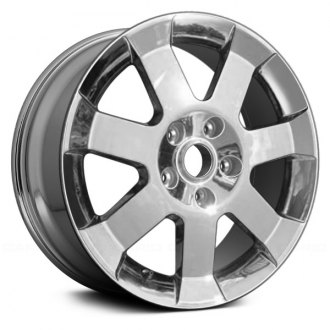 "Replace® - 18"" Remanufactured 7 Spokes Cladded Chrome Factory Alloy Wheel"
