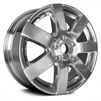 "Replace® - 18"" Remanufactured 7 Spokes Bright Polished Factory Alloy Wheel"