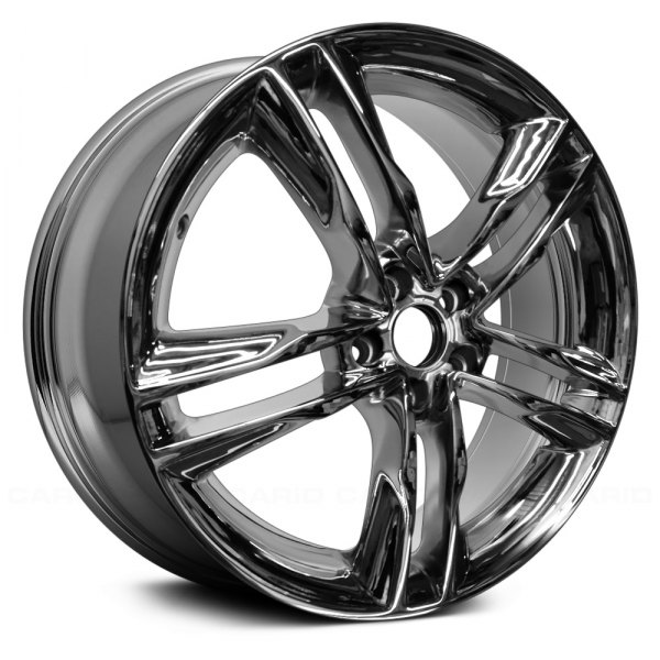 "Replace® - 19"" Remanufactured 5 Double Spokes Aftermarket Chrome Factory Alloy Wheel"