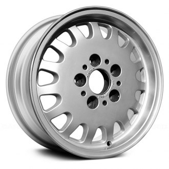 "Replace® - 15"" Remanufactured 15 Holes All Painted Bright Silver Factory Alloy Wheel"