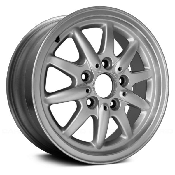 "Replace® - 15"" Remanufactured 10 Alternating Spokes All Painted Silver Factory Alloy Wheel"