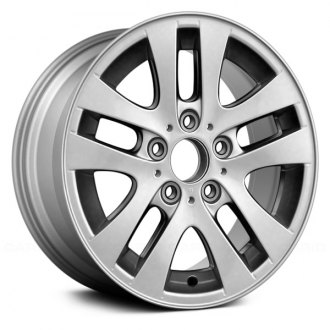 "Replace® - 16"" Remanufactured 5 Y Spokes All Painted Silver Factory Alloy Wheel"